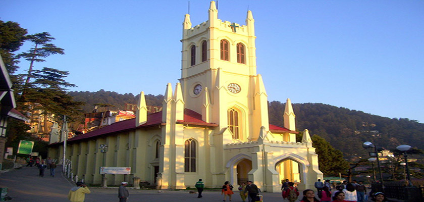 Christ Church in Shimla
