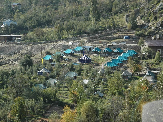 Himalayan Camping and Rafting Adventure Tour Package
