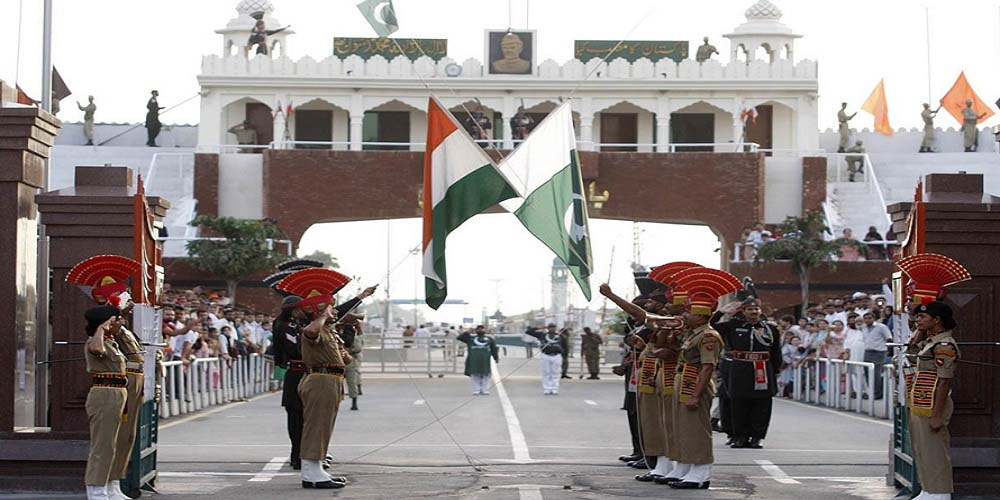 Wagah Border Near Amritsar, India