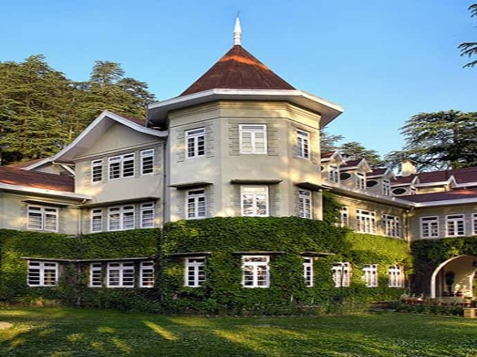 Hotel Woodville Palace in Shimla